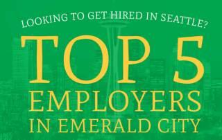 top 5 employers emerald