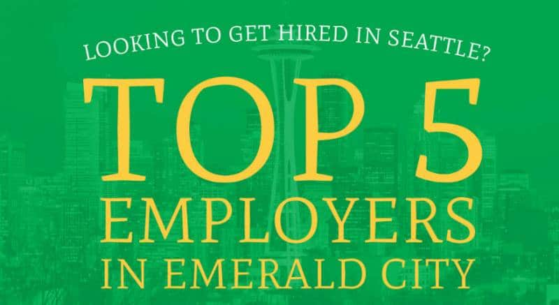 top 5 employers emerald