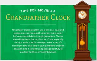 grandfather clock tips for moving